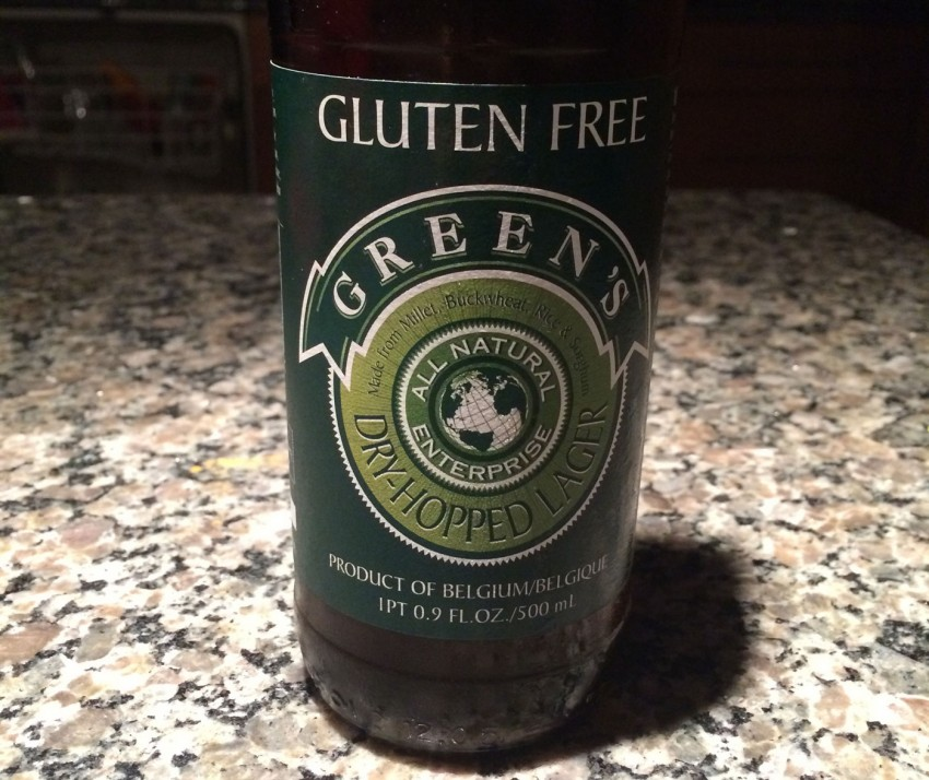 Green's Enterprise Gluten Free Dry-hopped Lager