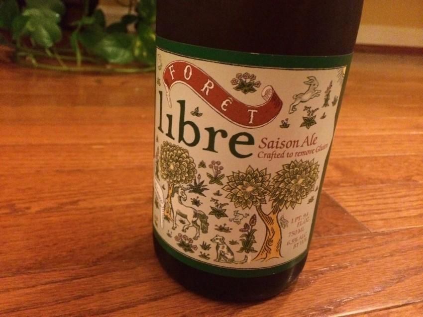 Forêt Libre Siason Gluten-free Ale label
