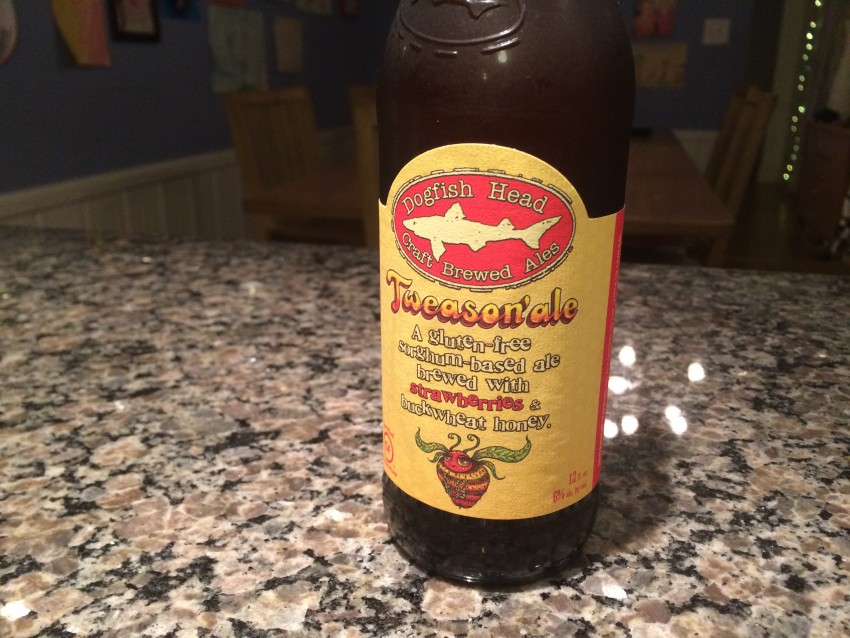 Dogfish Head Tweason'ale bottle