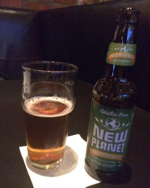 Bottle of New Planet Blonde Ale
