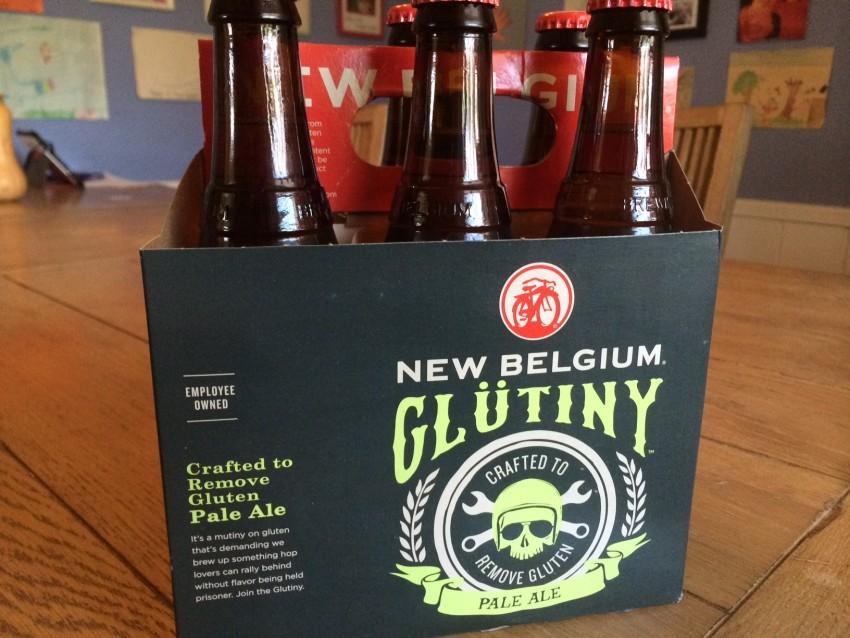 NewBelgium Glutiny Gluten free Pale ale - 6 pack