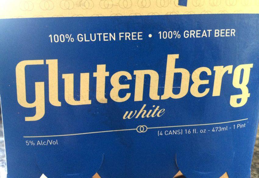 Glutenberg White gluten free beer