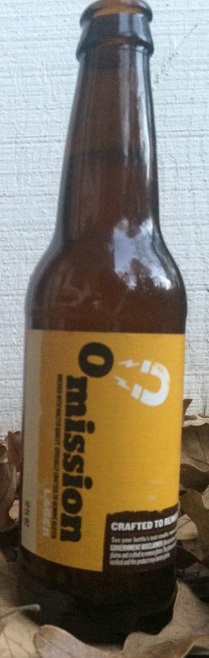 Bottle of Omission Lager