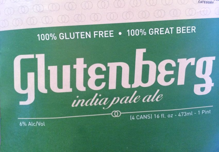 4 pack box of Glutenberg India Pale Ale - IPA