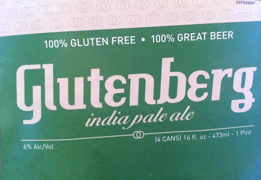 4 pack box of Glutenberg India Pale Ale - IPA