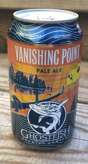 Can of Vanishing Point Pale Ale